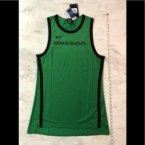 NWT Nike Oregon Women's Dri-Fit Mesh Long Tank M